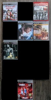 PS3 Games Winnipeg