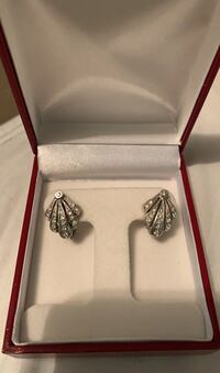 Seashell diamond earrings Vaughan, L6A