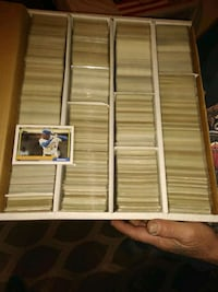 assorted trading cards in box Fulton, 13069