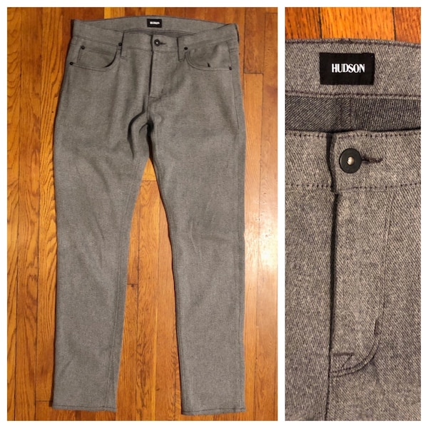 Men's Hudson Slim Fit Pant paid $195 size 33 excellent condition. Perfect for any man's wardrobe!