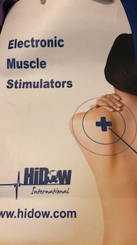 Hidow muscle stimulator package