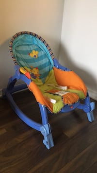 Baby's blue and yellow bouncer Brossard, J4Z 0G5
