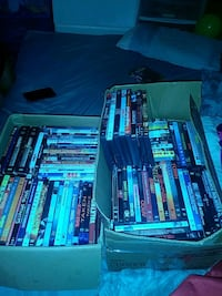 2 giant boxes of DVD/BLUE RAYS  Cape Coral, 33990