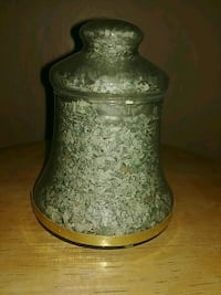 Glass money from 1976 filled bell Utica, 13502