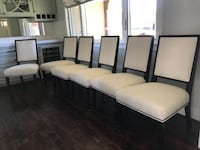 Michael Weiss Dining Room Chair Set