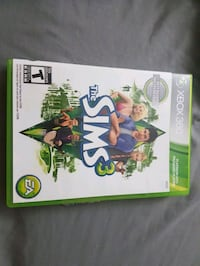 Sims3 used once, xbox 360 Montreal, H3S 1M7
