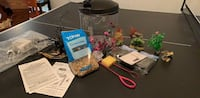 3 Gallon Fish Aquarium and accessories  Purcellville, 20132