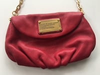 Authentic Marc By Marc Jacob Classic Q Karlie Crossbody red leather bag Burnaby, V5C