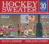 The Hockey Sweater 30th anniversary edition book and DVD - pristine condition  Kitchener, N2P 2B2