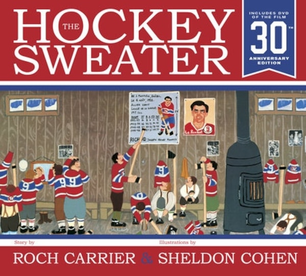 The Hockey Sweater 30th anniversary edition book and DVD - pristine condition