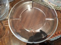 Heavy Glass Serving / Cake Plate - made in Germany  Toronto, M2H