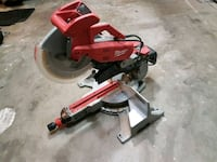 red and black miter saw Surrey, V3S 7R5