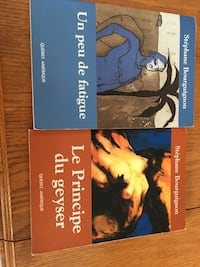 two assorted books Longueuil, J4K 1V9
