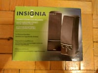 Insignia Stereo Computer Speakers Toronto, M6P 1A6