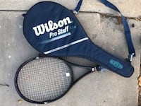 Black and blue wilson tennis racket with case Torrance, 90501