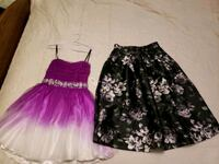 women's two black and pink skirts Hesperia, 92345