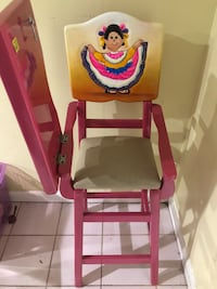 High chair from Mexico
