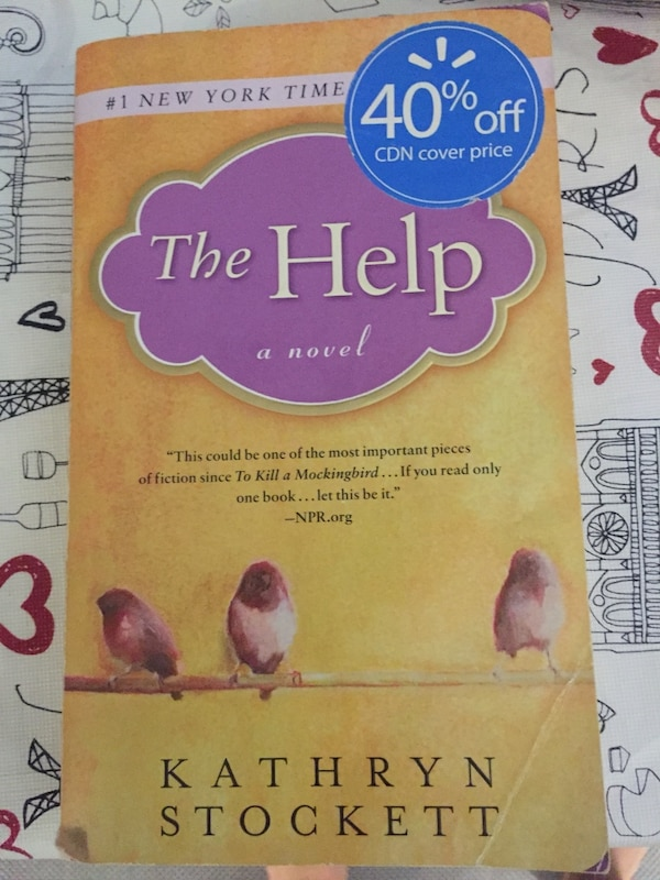 """The book, """"The Help"""""""