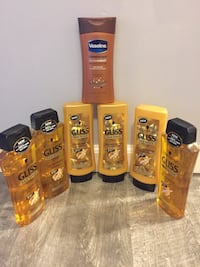 3sets Gliss shampoos &Conditioner 400ml 1vaseline Lotion 295ml bundle for $20/Must Pick Up Gahanna  Gahanna, 43230