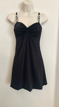 NWOT sexy Guess Jeans cocktail dress with jeweled straps. Sz Small Las Vegas, 89135