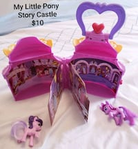 My little pony playset $10 Toronto, M9B 6C4