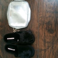 Victoria Secret two items buddle deal  Victoria Secret slippers size l Camden
