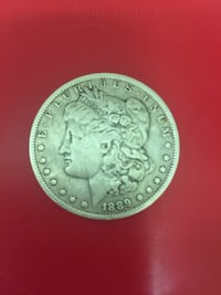 1889 Morgan antique coin