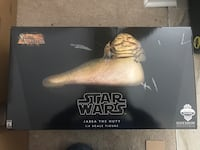"""Sideshow Collectibles Star Wars 12"""" Scale Jabba the Hutt w/ Throne Display Springfield, 07081"""