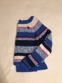 Striped Knit Cropped Abercrombie & Fitch Sweater Stoney Creek, L8G