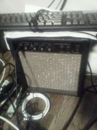 black and gray guitar amplifier Calgary, T2A 2V6