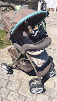 baby's black and gray stroller New Bedford, 02744