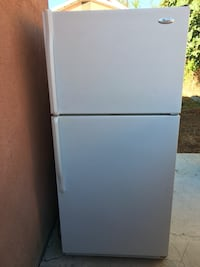 white top-mount refrigerator Los Angeles, 90031