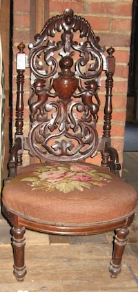 Victorian Slipper chair CLEVELAND