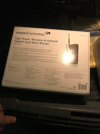 New Amped Wireless 600mW Gigabit Dual Band Router
