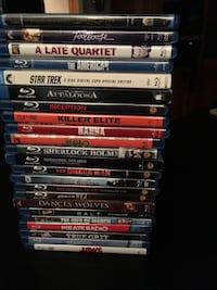 Assorted Blue-Ray movies Gilmer, 75645