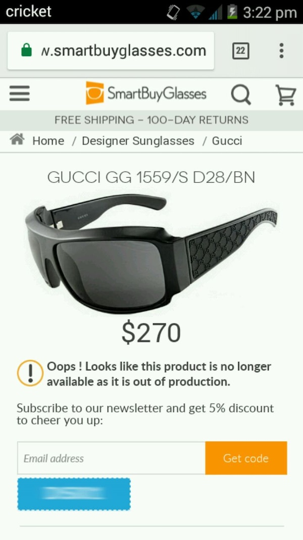 5e2d043a39 Used Bvlcari gucci glasses for sale in Hesperia - letgo