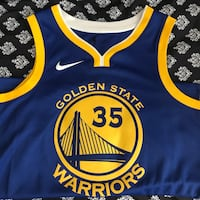 blue and yellow Golden State Warriors jersey Pittsburg, 94565