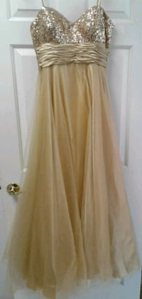 Beautiful gold gown with sequins Westminster, 21158