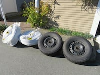 Winter tires with rims for sale Coquitlam, V3E 2J5