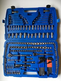 233 PC Mastercraft Socket Set plus 10 wrenches  Edmonton, T5B 3R6