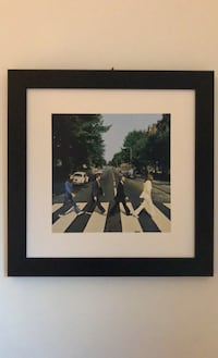 Beatles Abbey Road picture with frame Toronto, M4M