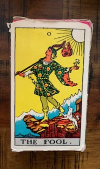 Authentic Tarot Cards designed by Pamela Colman Colwood, V9C 1G4