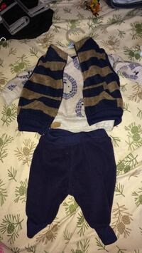 new born baby boys outfit only worn once  Vancleave, 39565
