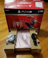 PlayStation 4 Pro 1TB Spiderman console Oslo