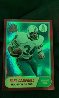 Earl Campbell collector card