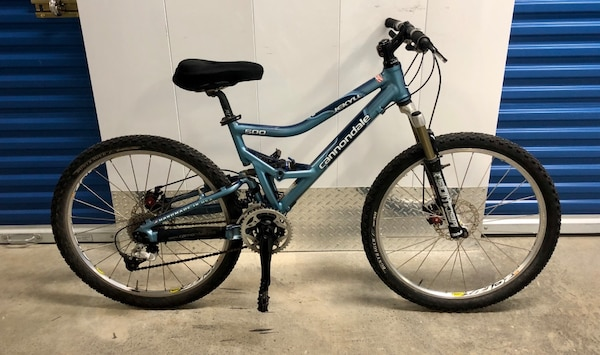 dba2f684a58 2003 CANNONDALE JEKYLL 500 27-SPEED FULL SUSPENSION DISC MOUNTAIN BIKE.  EXCELLENT CONDITION!