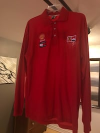 Ferrari original Red long sleeve shirt Montréal, H4A 2G9