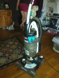 gray and blue upright vacuum cleaner Tulsa
