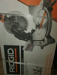 """Brand new 12"""" double beveled miter saw"""