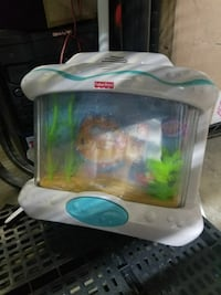 square white and green Fisher-Price fish tank toy Medicine Hat, T1B 4B7